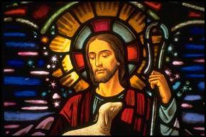 """Qui est l'Archange Michaël selon les """"religions"""" ??? Jesus-vitrail"""
