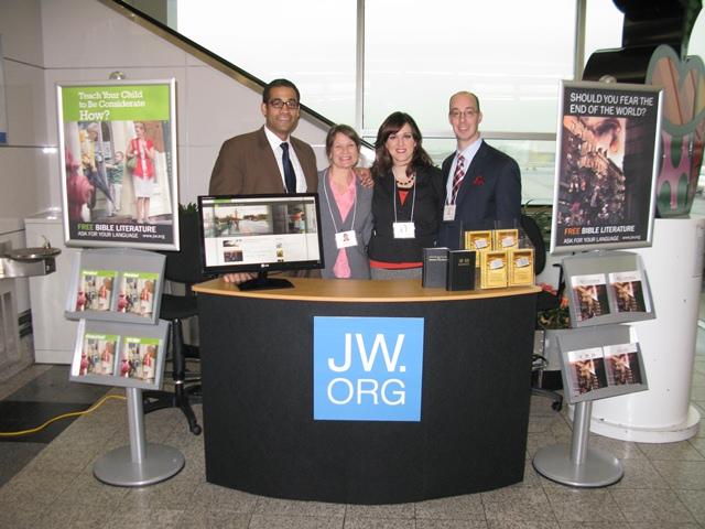 stand Témoins de Jéhovah jw.org